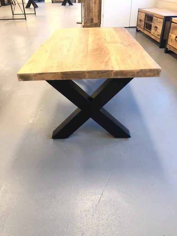 rechthoek tafel dik