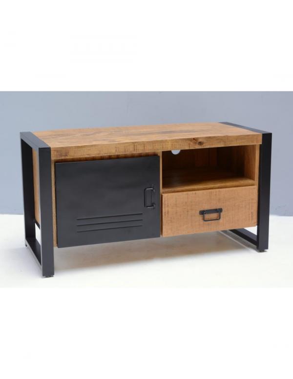 klein tv meubel mangohout