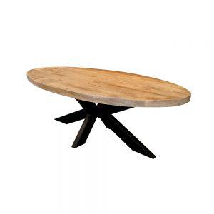salontafel ovaal mangohout